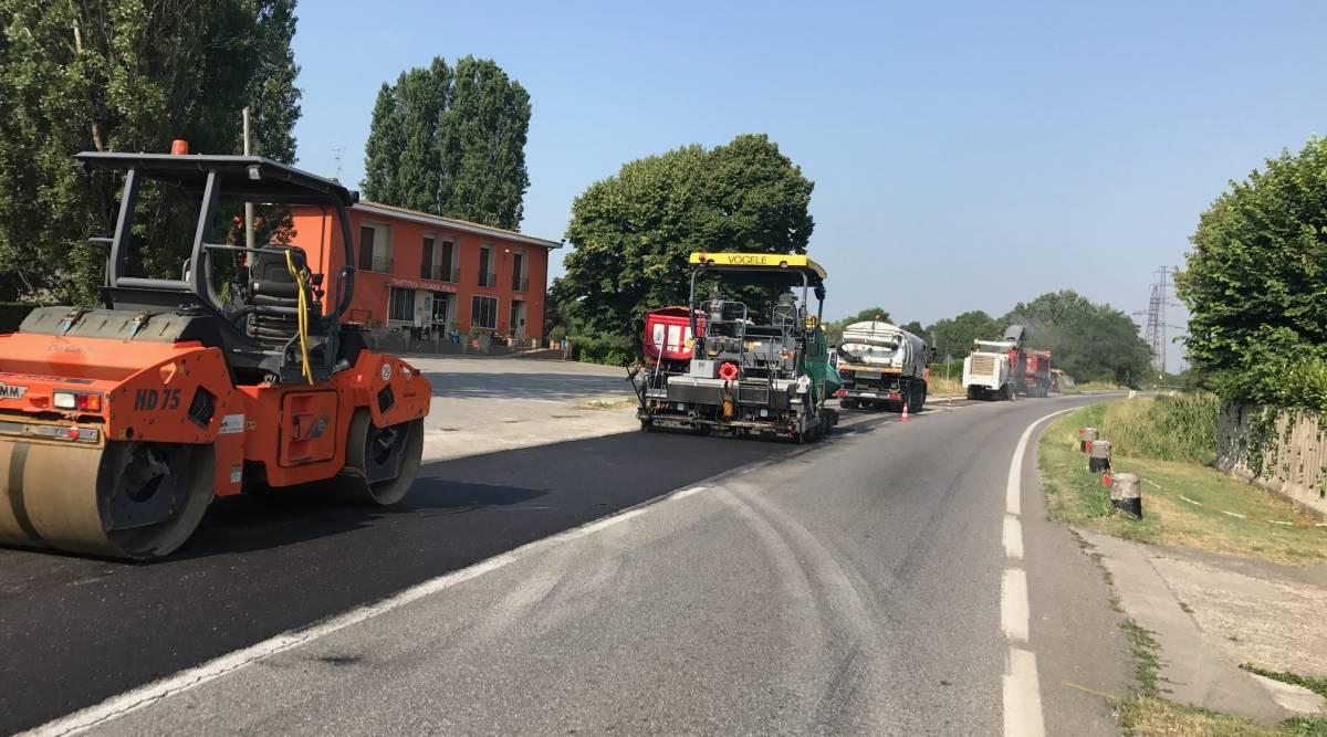 Lavori stradali e infrastrutture