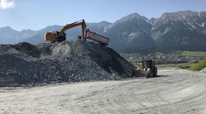 Realizzazione tunnel Bressanone - Innsbruck  - Scavi, movimento terra e oper fognarie