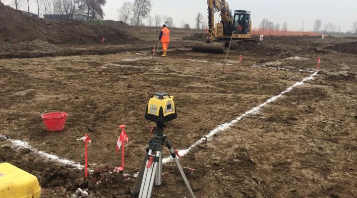 Realizzazione pavimentazioni ed opere esterne stabilimento Spino d'Adda